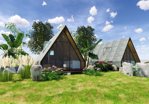 homestay nhà gỗ di động
