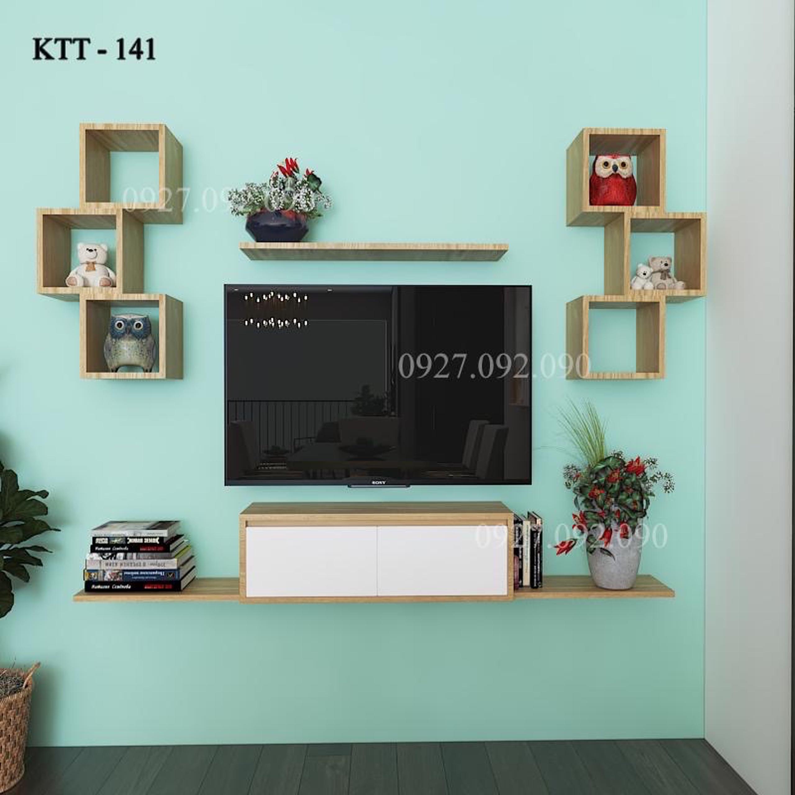 Kệ hoa, sách, Tivi AQ36